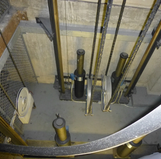 Tractor Water Lift : Case of the month elevator water damage garrett